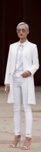 Белый цвет в одежде. Женский стиль.