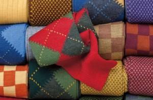 Цветные мужские носки