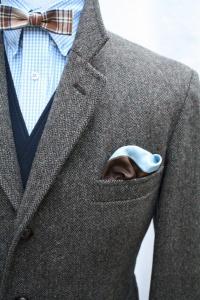 Платок в кармане пиджака