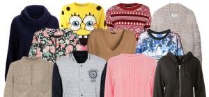 Кардиган, свитер, джемпер, свитшот, худи… В чем разница?