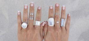 Серебряные кольца