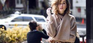 Пальто халат – тренд последних сезонов