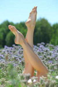 Как удалить огрубевшую кожу на пятках