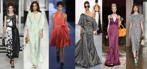 Модные платья на весну и лето 2017