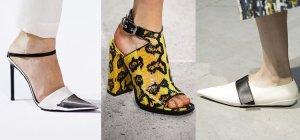 Модная женская обувь. Лето 2017
