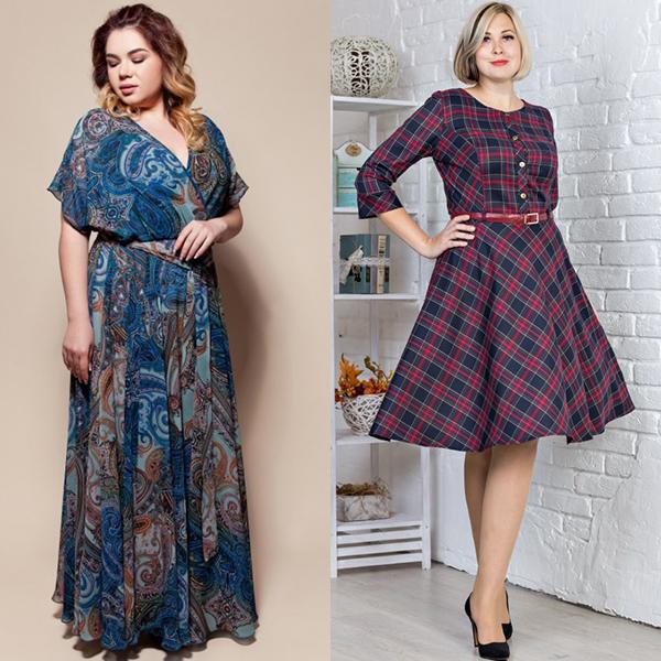 Как выбирать платья полным девушкам. Фото фасонов