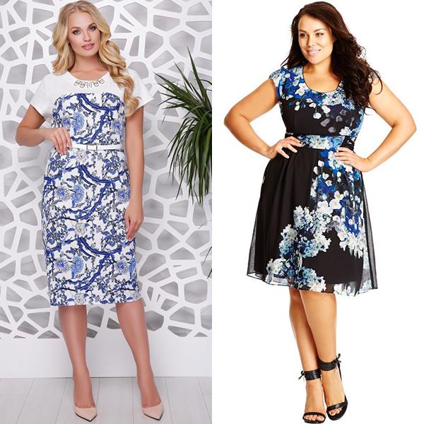 Вечерние платья для толстых женщин