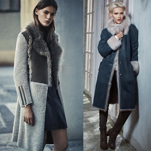 Модные фасоны женских дубленок. С чем носить?