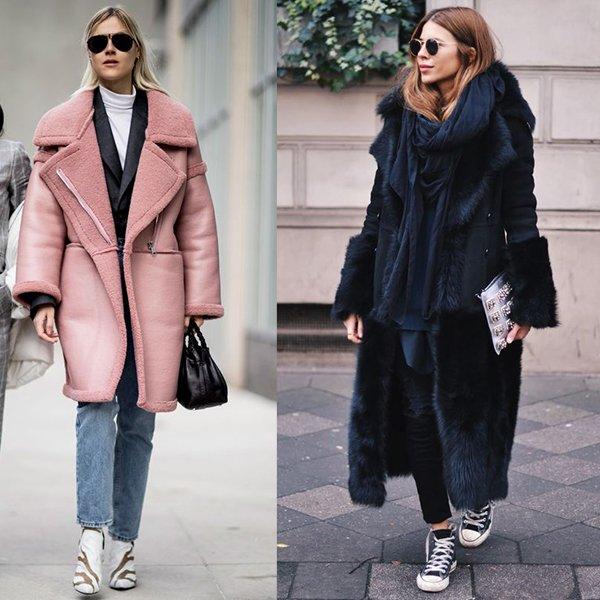 Какие дубленки в моде? Фото примеры