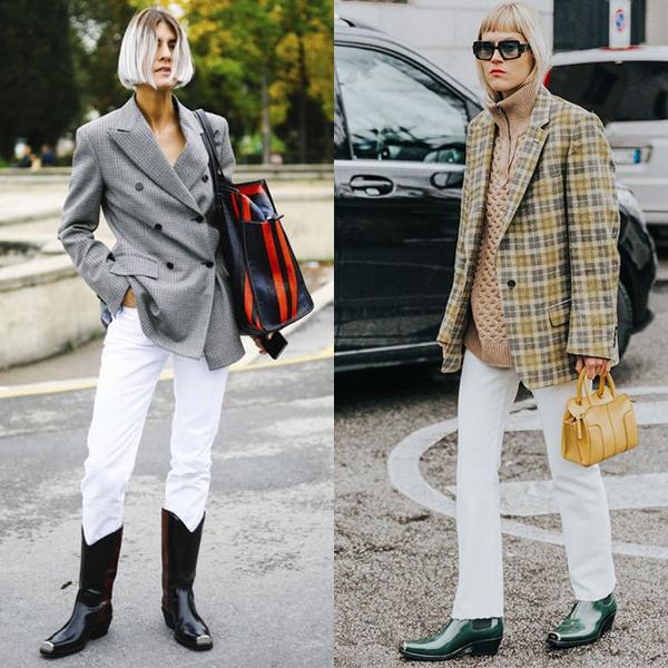 С чем носить ковбойские сапоги женщинам?