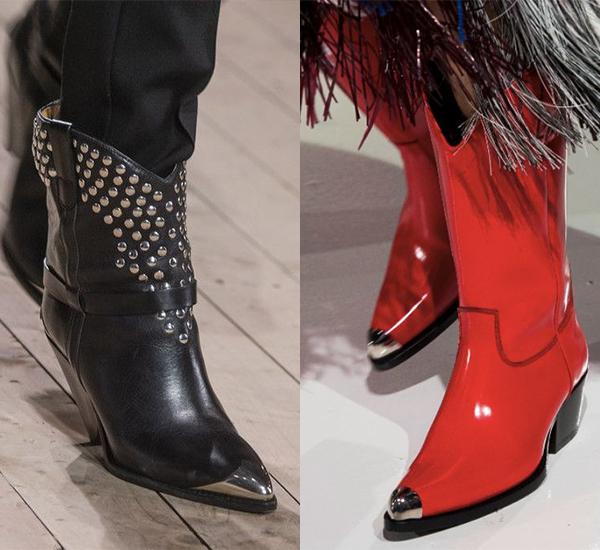 С чем носить сапоги казаки ковбойские?