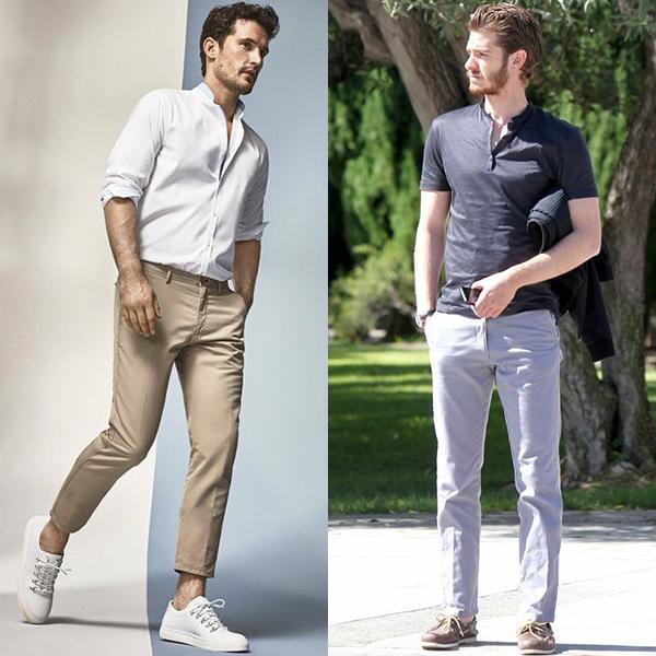 Стильная одежда для мужчин после 40 лет