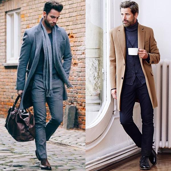 Как одеваться мужчине после 40 лет осенью и весной