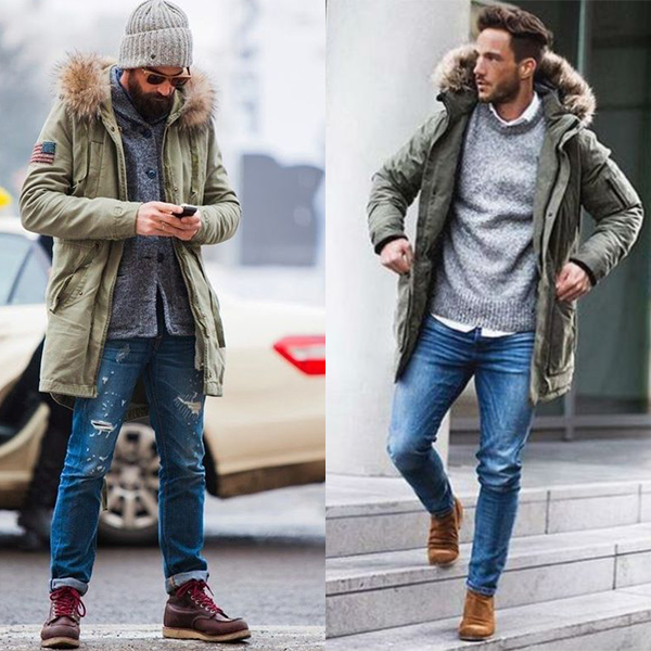 Верхняя одежда для мужчин после 40 лет.