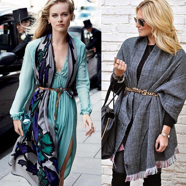 Какие платки в моде?