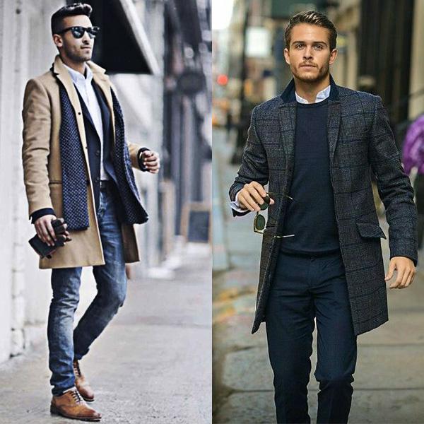 Какая верхняя одежда подходит мужчинам после 40 лет. Фото