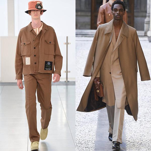 Модные цвета в одежде для мужчин весна лето 2019