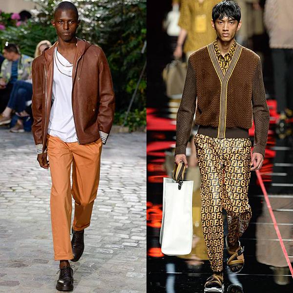 модная одежда мужская весна лето 2019