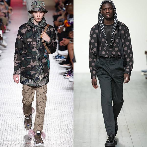 модные цвета в мужской одежде весна лето 2019