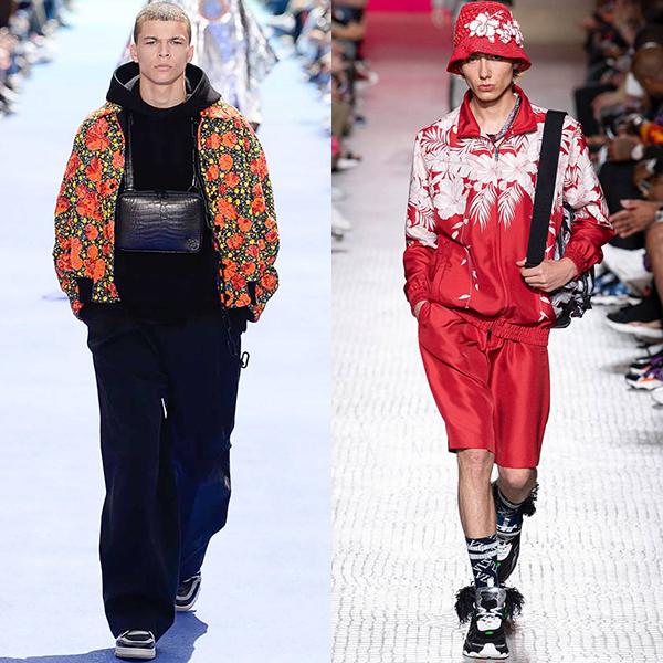 мода мужская весна лето 2019