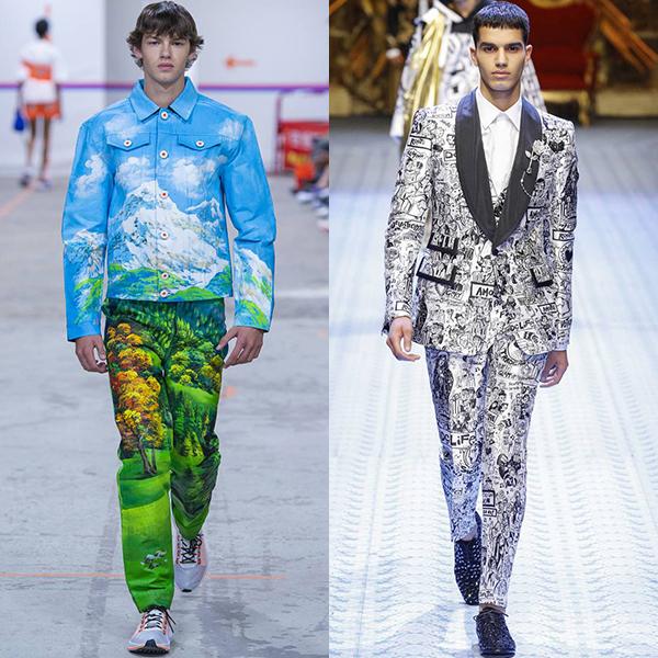 какая мужская одежда в моде весной и летом 2019
