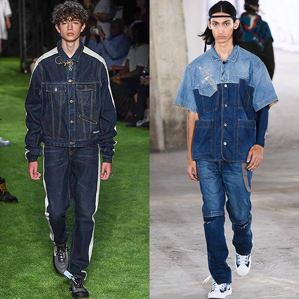 мужская мода весна лето 2019 примеры на фото