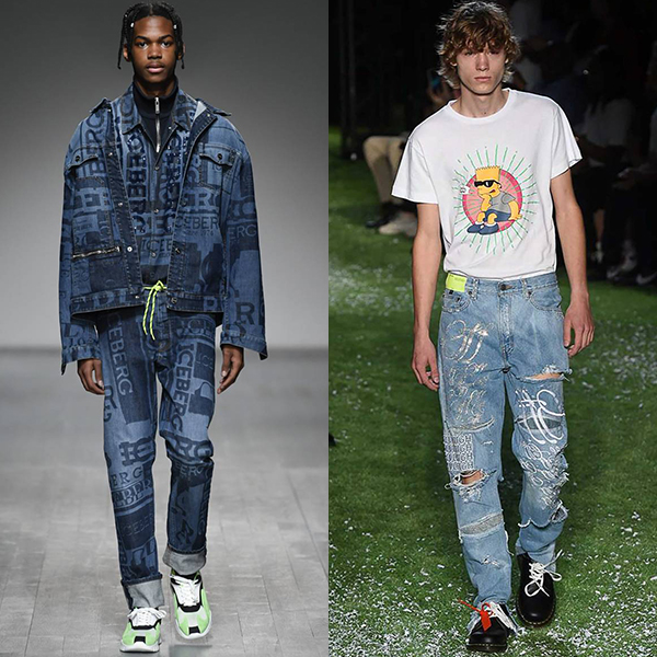 мода для мужчин весна лето 2019