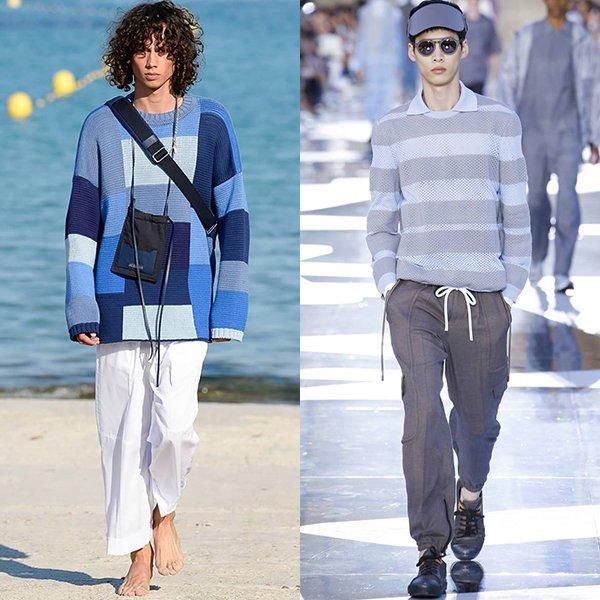 Тенденции в мужской моде весна лето 2019