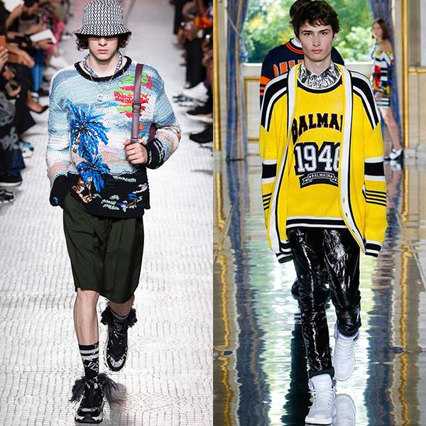 Мода мужская весна лето 2019 фото трендов