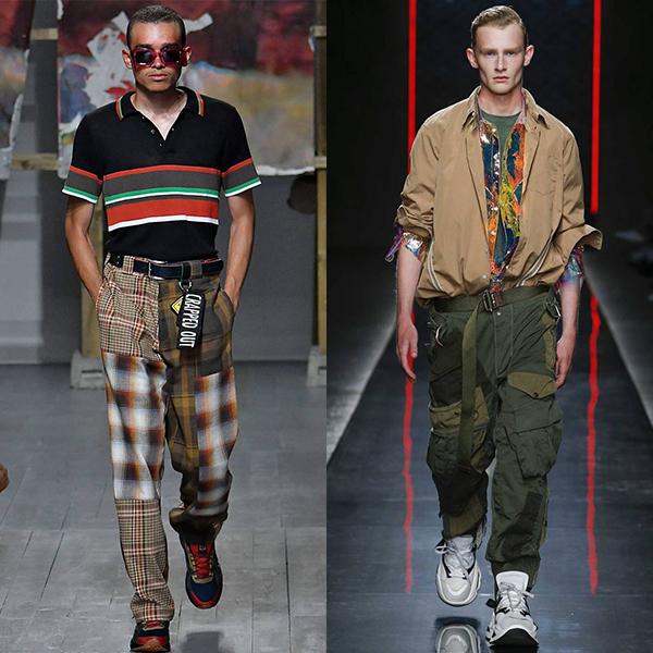 Мужская моде, тенденции весны и лето 2019 на фото