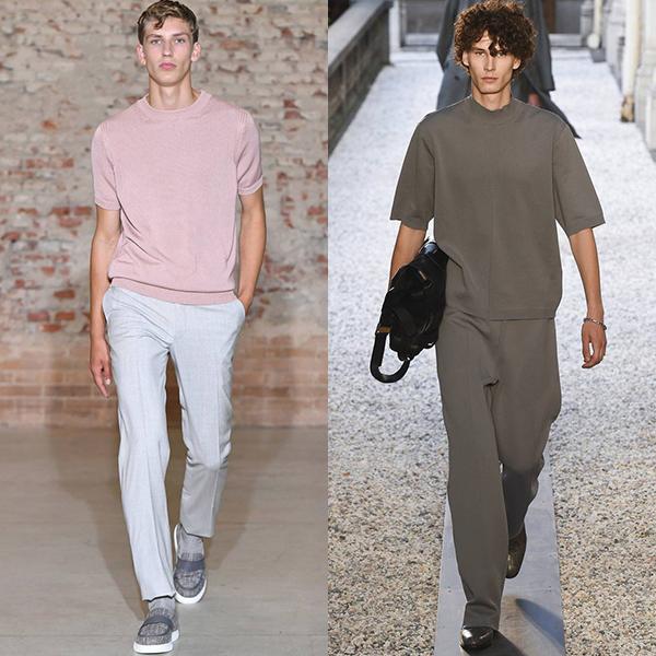 Тенденции мужской моды весна лето 2019