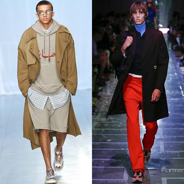 Модные стили в мужской одежде весна лето 2019