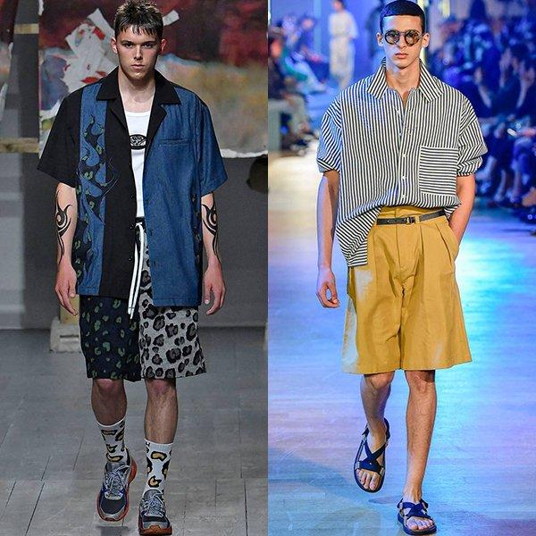 Модные стили одежды для мужчин весна лето 2019