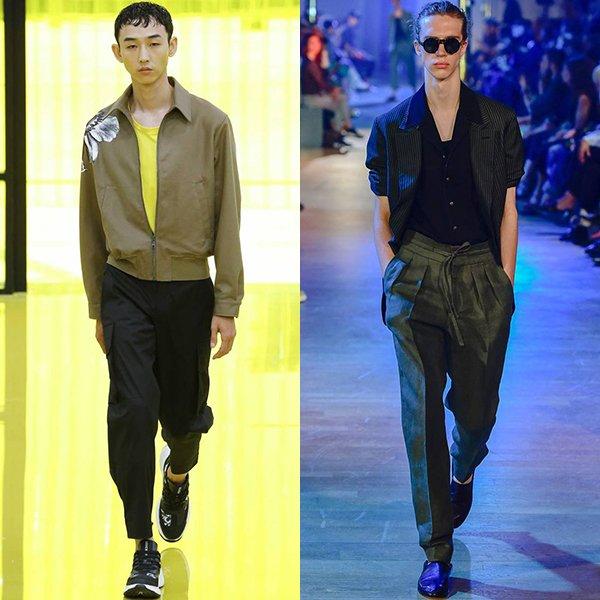 какая одежда в моде у мужчин весна лето 2019
