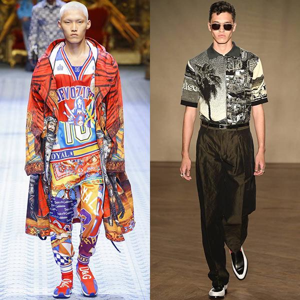 тренды в мужских модных коллекциях весна лето 2019 фото