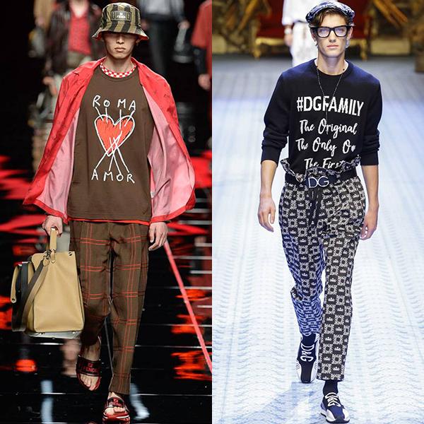 какая мода для мужчин весна лето 2019