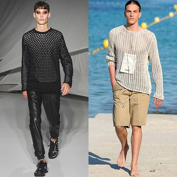 Мужская мода весна лето 2019 тренды фото