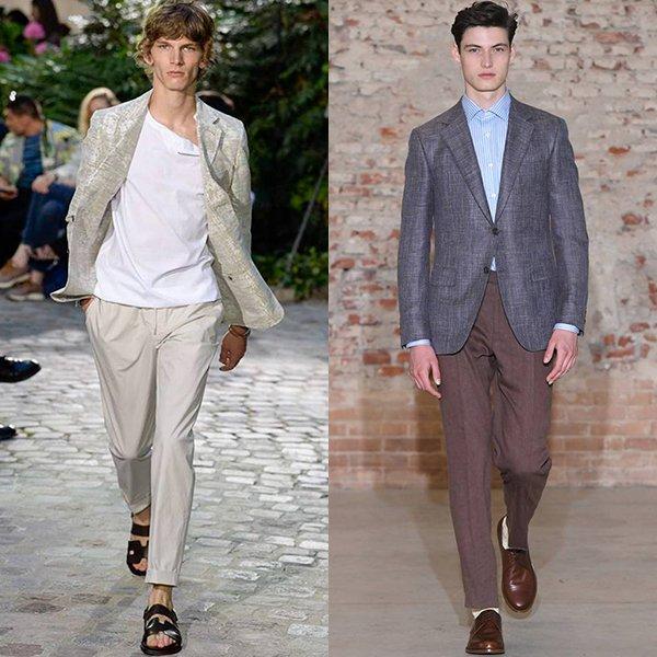 тренды мужской моды весна лето 2019