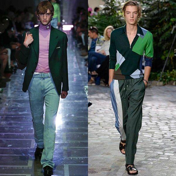 фото модной мужской одежды весна лето 2019