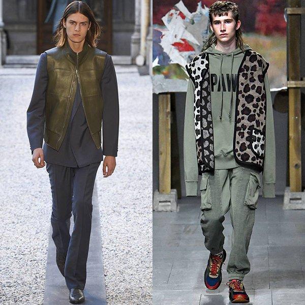 Тенденции мужской моды весна лето 2019 фото