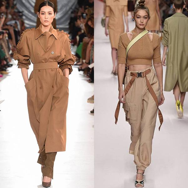 Какие цвета в моде весной и летом в 2019 году
