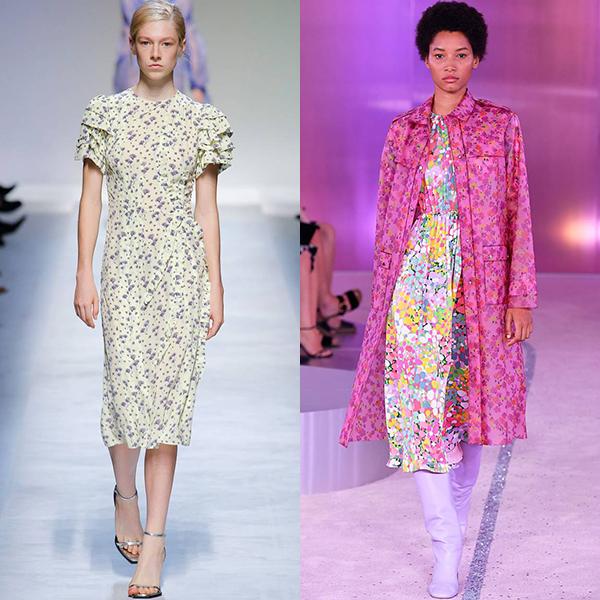 Женская мода весна лето 2019 год