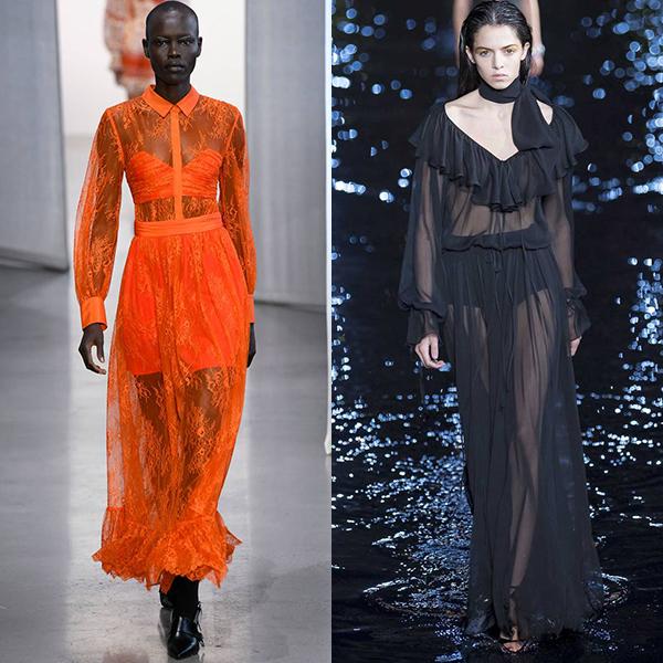 Модные ткани весна лето 2018