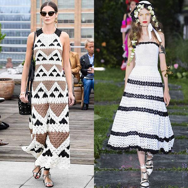 Какие вязанные вещи в моде весна лето 2019