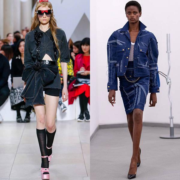 Модная одежда джинсовая весна лето 2019
