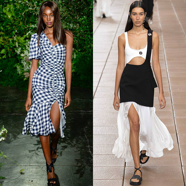 Модные стили одежды весна лето 2019