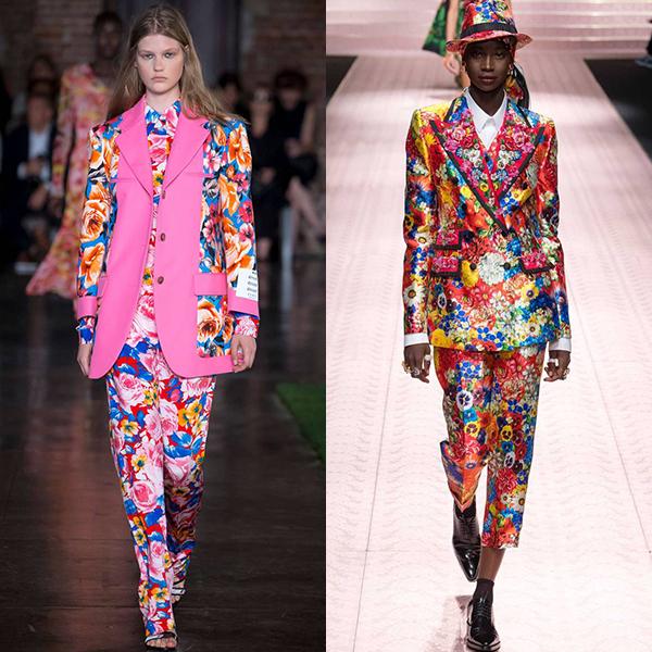 мода тенденции весна лето 2019