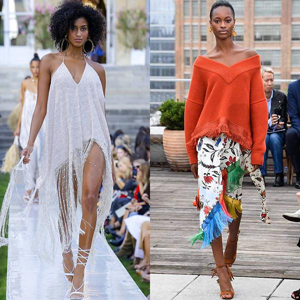 тренды в одежде весна лето 2019