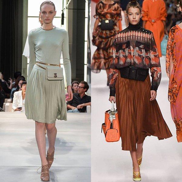 тенденции женской моды весна лето 2019