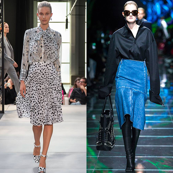 модные юбки весна лето 2019 фото